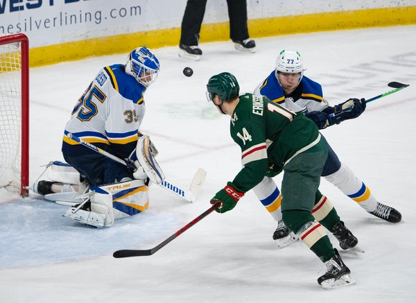 Back-to-back losses to Blues give Wild preview of playoff intensity
