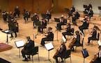 Courtesy of Minnesota Orchestra Fabien Gabel led the Minnesota Orchestra in the finale of Friday night's concert, Mozart's Symphony No. 39.