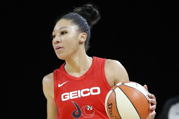 Aerial Powers' versatility and maturity caught Cheryl Reeve's attention during free agency.