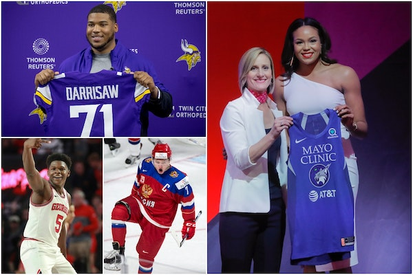Thanks to the drafts in various sports, the future is bright in Minnesota sports.