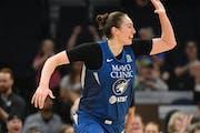 Minnesota Lynx forward Jessica Shepard