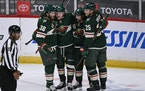 The Wild snapped a two-game slide with a 4-3 overtime win vs. the Blues on Saturday at Xcel Energy Center.