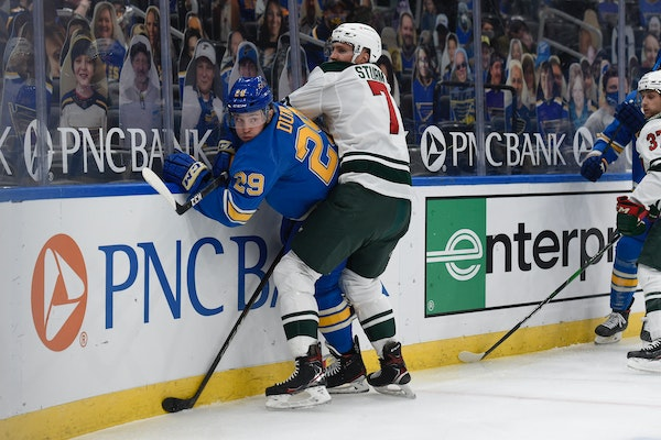 Wild makes changes to find success after struggles with St. Louis