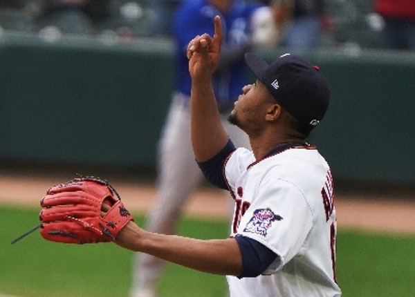 Jorge Alcala finished up the Twins' blowout Sunday, and closing games in the ninth inning seems to be a role for which he and his stuff are suited.