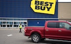 The Best Buy in Apple Valley is one of 12 Twin Cities stores that are partipating in the retailer's pilot membership program. (GLEN STUBBE/Star Tr