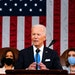 President Joe Biden is calling on Congress to pass police reform by the first anniversary of George Floyd's killing. (Melina Mara/POOL/AFP via Getty