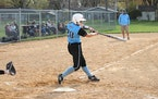 Tri-City United's Ellaina Novak belted three home runs — including two grand slams — and drove in 11 runs in a recent softball victory over Maye