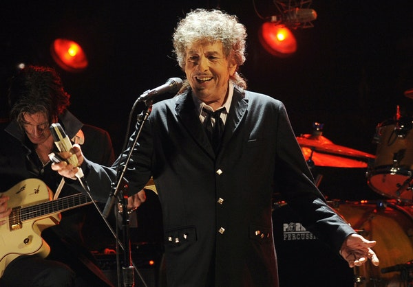 Bob Dylan performed in Los Angeles in 2012. He celebrates his 80th birthday on Monday. Associated Press