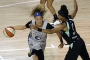 During the 2020 WNBA season, Lynx guard Rachel Banham got more playing time and offensive freedom from coach Cheryl Reeve.