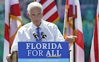 U.S. Rep. Charlie Crist, who served as Florida governor for a single term before running other offices, is seeking the state's highest office once a