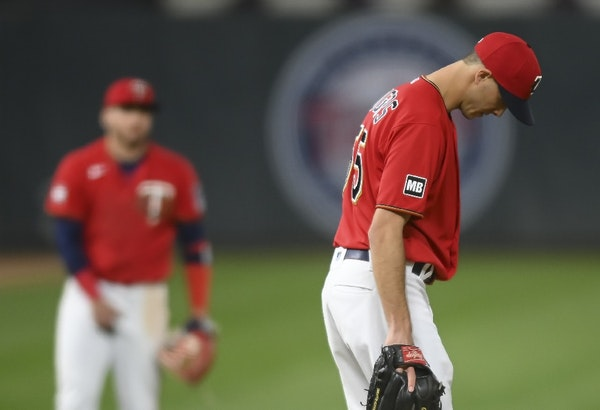 Bullpen blows up again: Twins lose lead in ninth, game in 10th to Rangers
