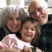 After receiving their COVID-19 vaccinations, Barbara Rawley and Dan Nordby were reunited with their Minnesota granddaughter.