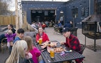 Ursa Minor Brewing is just one of many restaurants around Duluth that have large outdoor patios set up to accommodate outdoor dining this spring and s