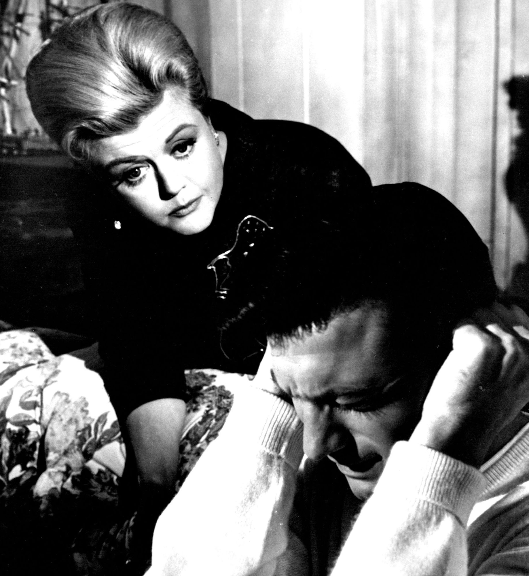 Angela Lansbury portrays the ruthless, scheming mother of Laurence Harvey in 'The Manchurian Candidate.'
