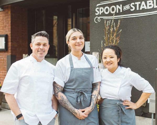 ProvidedAlexandra Motz and Diane Moua are running the pastry programs at Spoon and Stable and Bellecour Bakery, both owned by Gavin Kaysen.