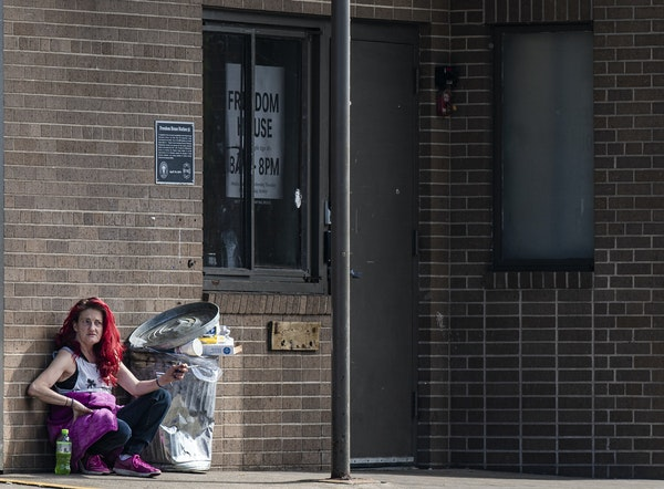 West Seventh business owners and neighbors say they have experienced violence and crime since Freedom House, a homeless day shelter opened earlier thi