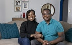 Funmi Okanla-Falade and Wale Falade decided to repurpose one of their bedrooms to create space for a much larger bathroom and a walk-in closet.