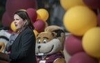 University of Minnesota President Joan Gabel.