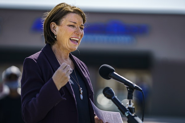The Senate Rules Committee chaired by Sen. Amy Klobuchar takes up the For the People election reform bill next week.