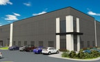 Rendering of the WPT Industrial REIT's new speculative warehouse in Shakopee