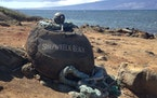Lanai's Shipwreck Beach offers interesting sights and hiking trails, including one that leads to ancient petroglyphs.