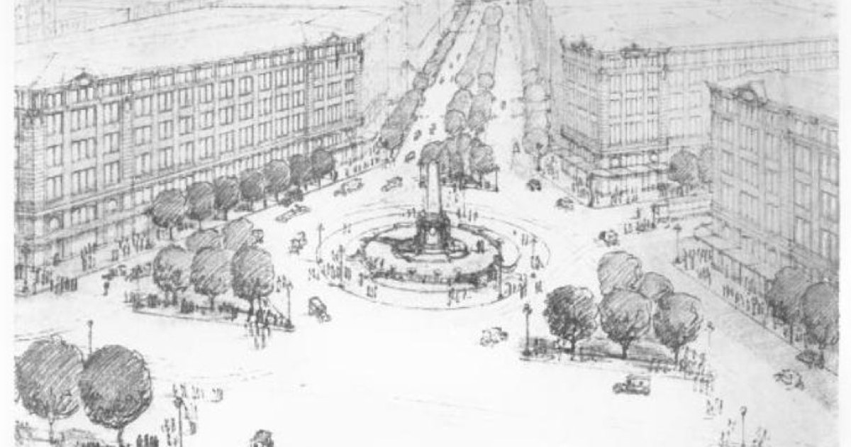 Starting as early as 1919, Minneapolis planners had big ideas for city