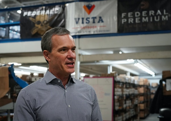 Vista Outdoor CEO Chris Metz has lead a strategic turnaround for the outdoor brands company.