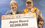 Joyce and Richard Moore won $2 million in the Gopher 5 in 2014.