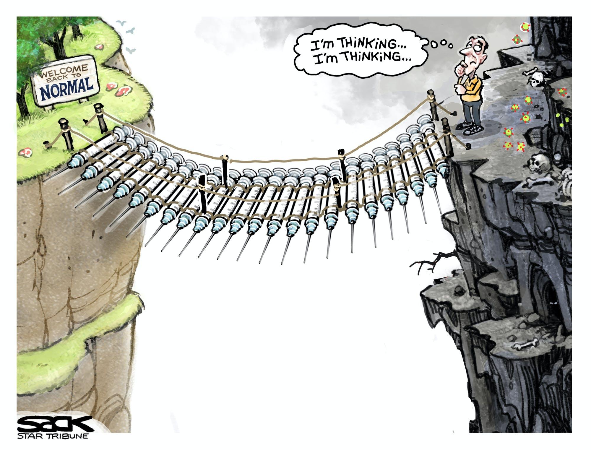 Sack cartoon: Vaccine hesitancy | Star Tribune