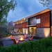 The FlatPak House in Minneapolis near Cedar Lake was a case study in modern prefabricated architecture. Designed by architect Charlie Lazor, it's on