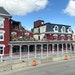 The Archer House in Northfield was damaged last year by a fire that started in one of its restaurants. Until insurance questions are answered, its fat