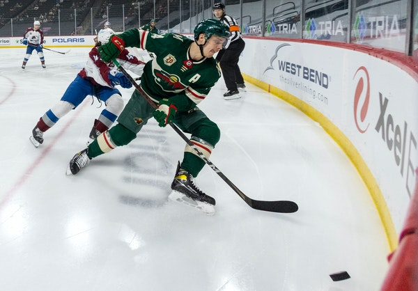 Eriksson Ek at last emerges as a scorer Wild believed he could be
