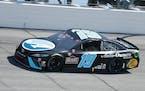 Martin Truex Jr. held off Kyle Larson at Darlington (S.C.) Raceway for his third NASCAR victory of the season.