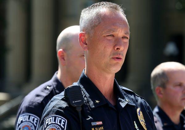 University of Minnesota Police Chief Matt Clark in 2015.