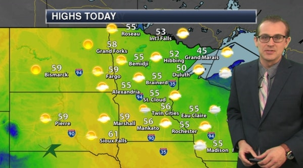 Afternoon forecast: Cool sun; high 56