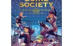 """""""The Curie Society"""" emphasizes STEM and teamwork with its trio of young heroes. (Cover art by Sonia Liao and Johanna Taylor, copyright MIT Press"""