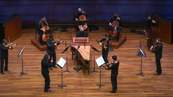 The St. Paul Chamber Orchestra played a livestream concert May 8 at Ordway Concert Hall.
