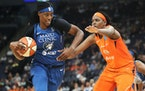 Even with more outside shooters on the roster, the Lynx offense still revolves around center Sylvia Fowles.