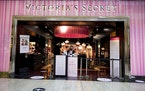 This Wednesday, Feb. 24, 2021 photo shows the entrance to a Victoria's Secret store at a shopping mall in Pittsburgh. Brands plans to spin off Victo