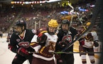 The Gophers and St. Cloud State will meet at 3M Arena at Mariucci on Oct. 15 as part of a home-and-home series.