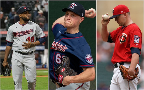 Alexander Colome, Cody Stashak and Tyler Duffey have all struggled in relief for the Twins.