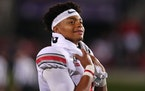 Quarterback Justin Fields could be under center for Chicago for one or both, or none, of the two Bears-Vikings clashes in 2021.