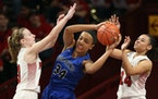 Maya Nnaji of Hopkins has made a verbal commitment to play college basketball for Arizona.
