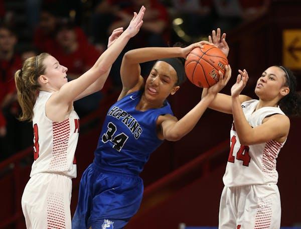 Maya Nnaji of Hopkins has made a verbal commitment to play college basketball for Arizona.