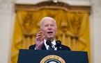 "President Joe Biden called Gov. Tim Walz a ""stand-up guy."""