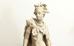 This terra cotta statue is by a noted 19th-century French artist.