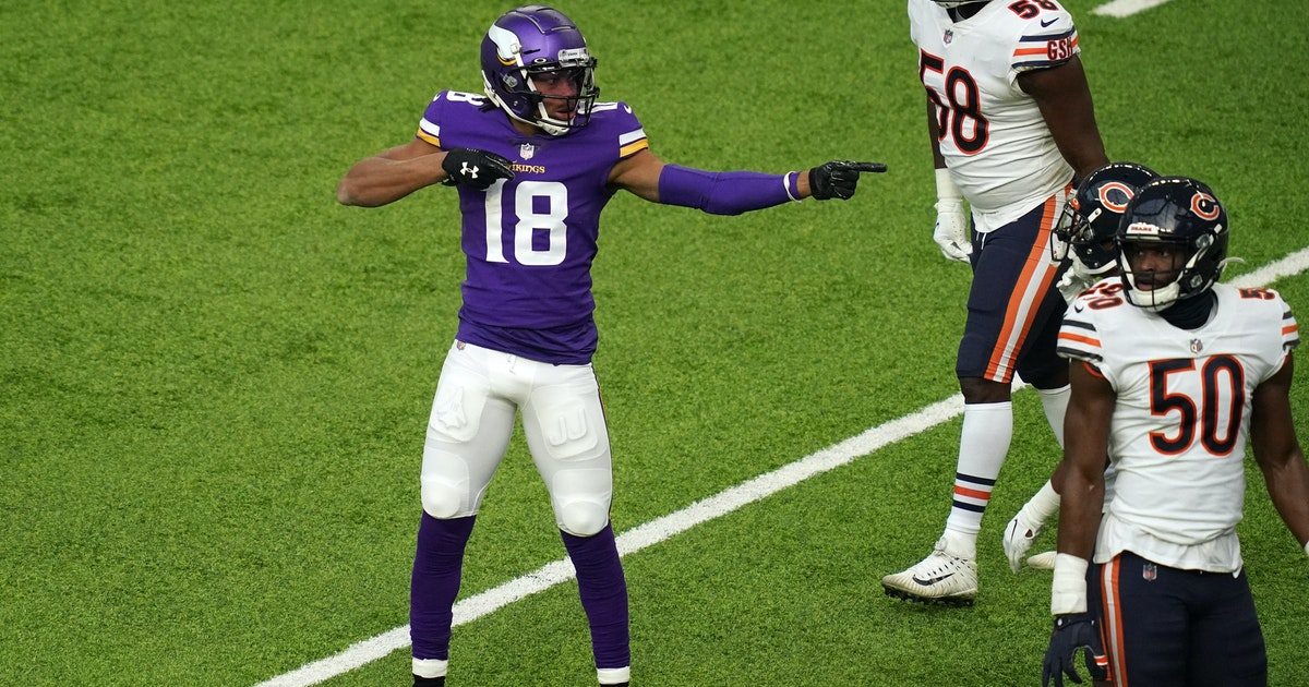 After record-setting rookie year, Vikings' Justin Jefferson bent on learning, improving