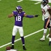 Vikings wide receiver Justin Jefferson's offseason film sessions have revolved around studying nuances of top NFL receivers such as Davante Adams.