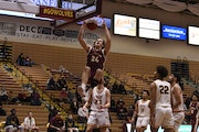 Parker Fox led Northern State the past two seasons. The 6-8 Fox averaged 22.3 points and 9.9 rebounds per game last season.