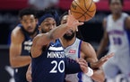 Timberwolves forward Josh Okogie